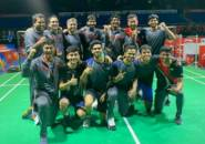Kandaskan Thailand, Tim Putra India Tantang Indonesia di Semifinal Kejuaraan Beregu Asia 2020