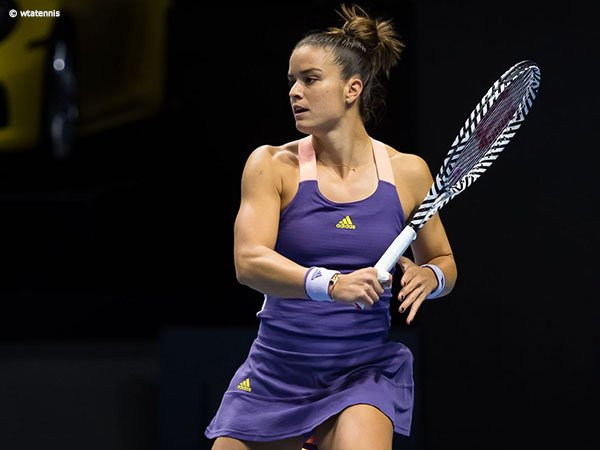 Belinda Bencic Gigit Jari, Maria Sakkari Mantap Ke Semifinal Di St. Petersburg