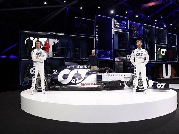 Gelar Launching Tim, Toro Rosso Resmi Ganti Nama Jadi Tim Alpha Tauri