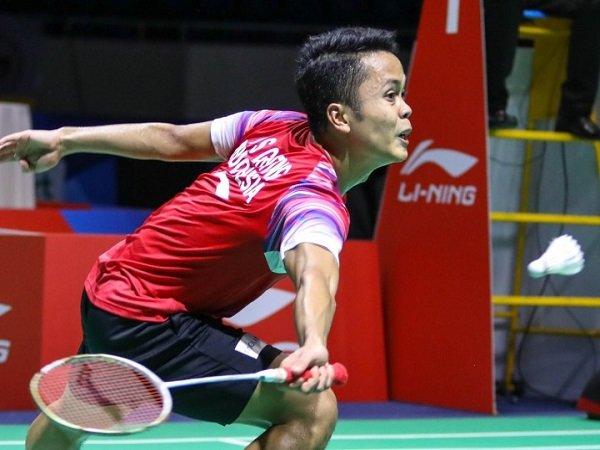 Bahagianya Anthony Ginting Usai Sumbang Poin Kemenangan Bagi Tim Indonesia