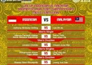 Berikut Line Up Indonesia vs Malaysia di Final Kejuaraan Beregu Asia 2020