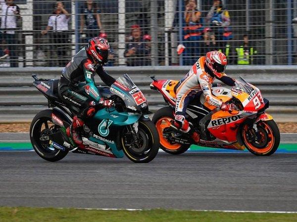 Rins Sebut Quartararo Punya Peluang Paling Besar Untuk Kalahkan Marquez