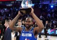Terima Trofi Kobe Bryant MVP Award, Kawhi Leonard Merasa Begitu Bangga