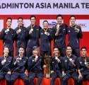 Usai Jadi Kampiun di Kejuaraan Beregu Asia, Indonesia Mulai Alihkan Fokus ke Piala Thomas