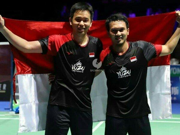 BWF Ranking: Ahsan/Hendra Cetak Rekor Poin BWF