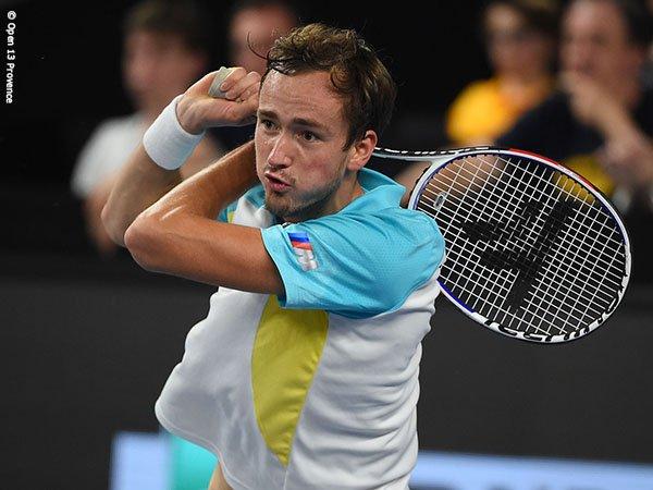 Daniil Medvedev Bendung Laju Jannik Sinner Ke Perempatfinal Di Marseille