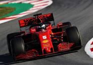 Jajal SF1000 di Tes Barcelona, Vettel Tak Rasakan Perubahan Signifikan