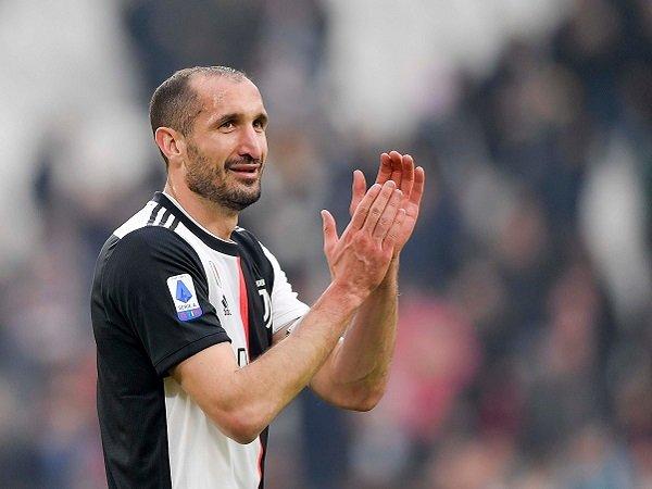 Juventus Hadapi SPAL, Sarri Bisa Mainkan Chiellini Sebagai Starter
