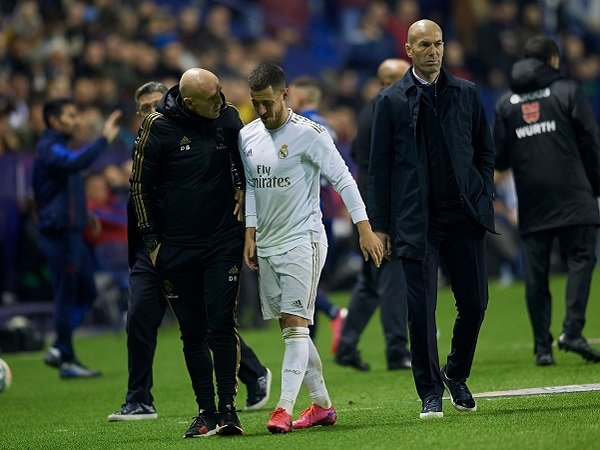 Eden Hazard Cedera Lagi, Real Madrid Makin Sial