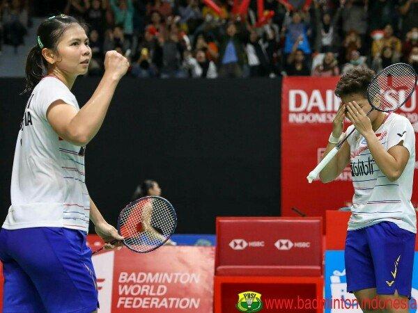 Kandaskan Juara Eropa, Greysia/Apriyani Juara Spanyol Masters 2020