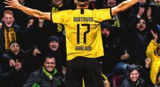 Witsel: Dortmund Bahagia Miliki Erling Haaland