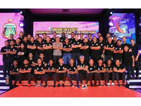 Bhayangkara FC Perkenalkan 32 Pemain Untuk Arungi Musim 2020
