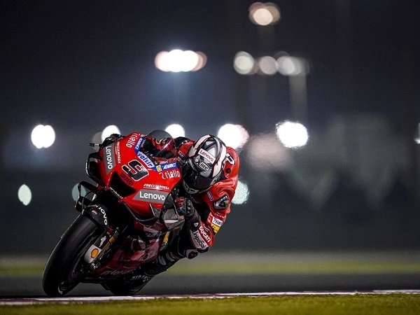Petrucci Puas Dengan Kecepatan Desmosedici GP20 di Sirkuit Losail