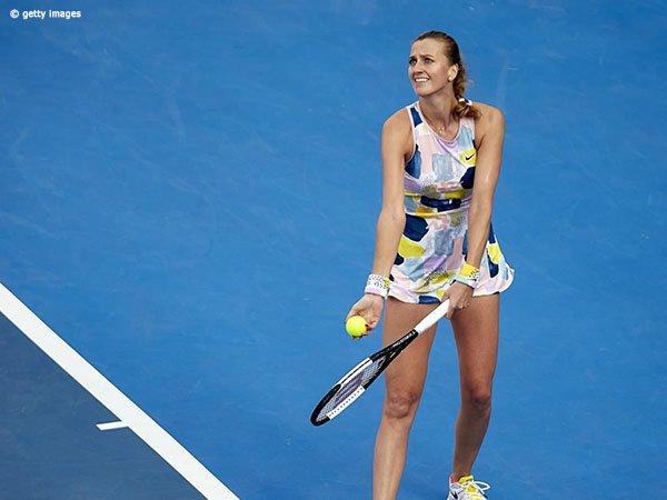 Jelena Ostapenko Angkat Koper, Petra Kvitova Bukukan Satu Tiket Perempatfinal Qatar Open