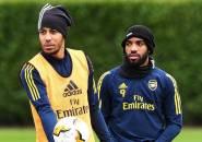 Lacazette Berharap Aubameyang Bertahan di Arsenal