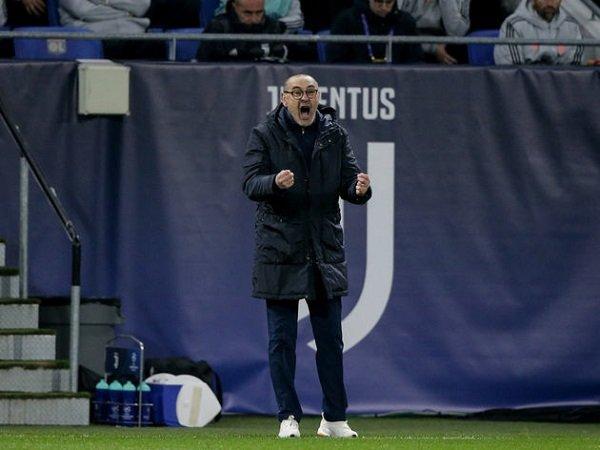 Kalah dari Lyon, Sarri: Juventus Bermain Terlalu Lambat