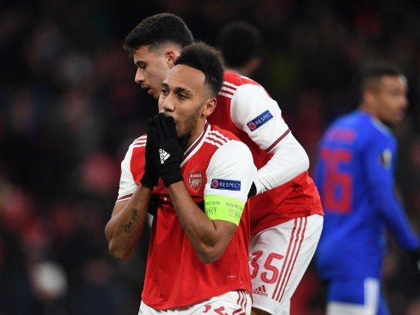 Penyesalan Aubameyang setelah Arsenal Tersingkir dari Liga Europa