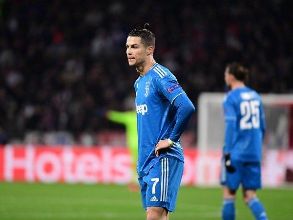 Cristiano Ronaldo Percaya Diri Juventus Bisa Balikkan Hasil Kontra Lyon