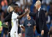 Bahagianya Zidane Lihat Vinicius Bikin Gol di El Clasico