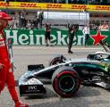 Vettel Akui Ferrari Semakin Ketinggalan dari Mercedes