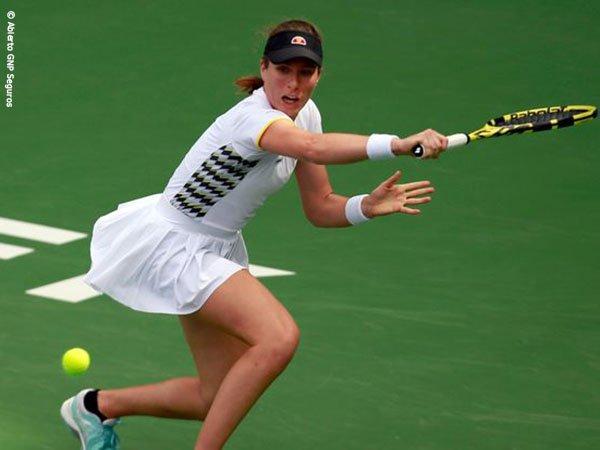 Meski Tertatih, Johanna Konta Pastikan Diri Menuju Semifinal Di Monterrey