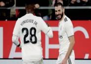 Benzema Berperan Besar dalam Perkembangan Permainan Vinicius