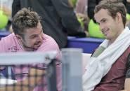 Hadapi Masa Berat, Stan Wawrinka Dan Andy Murray Saling Tukar Komentar Via Media Sosial
