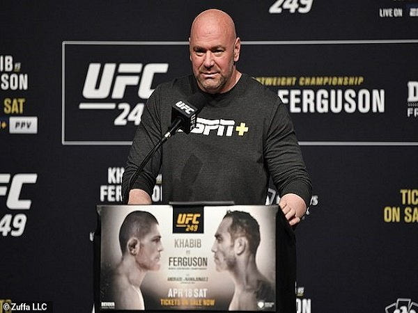 Ditolak New York, Presiden UFC Jamin Khabib vs Ferguson Bakal Berlangsung