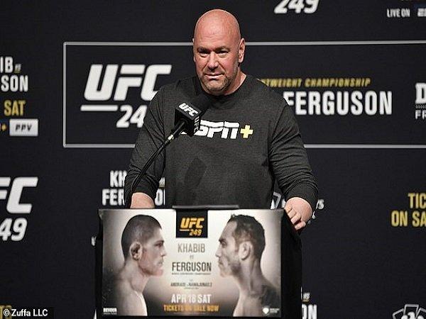 Presiden UFC Sudah Temukan Lokasi untuk Laga Khabib vs Ferguson