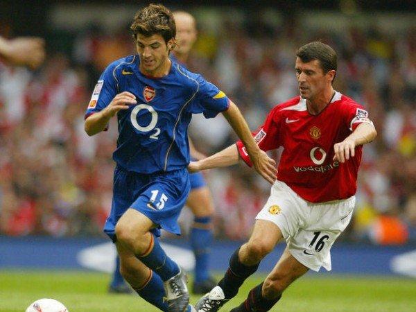 Sebelum Gabung Arsenal, Fabregas Ternyata Pernah Tolak Man United