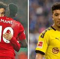 Andai ke Liverpool, Sancho Diprediksi Tak Mampu Lampui Mane dan Salah