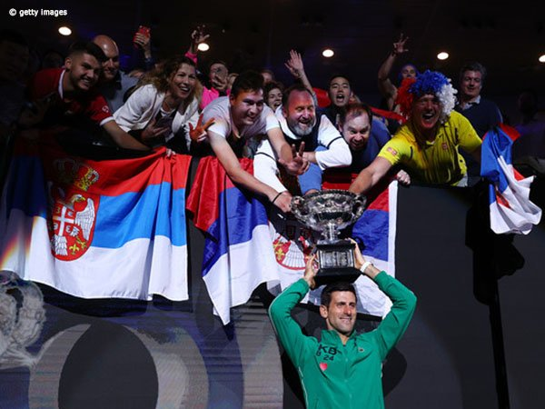 Novak Djokovic Donasikan Sebesar Ini Demi Bantu Serbia Perangi COVID-19