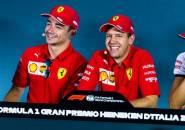 Soal Masa Depan Vettel, Leclerc Pasrahkan Segala Keputusan pada Ferrari