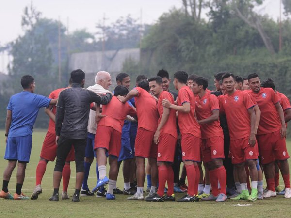 Arema FC Siap Lunasi 25 Persen Gaji Pemainnya