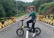 Pulang Kampung, Winger Persebaya Ketagihan Gowes