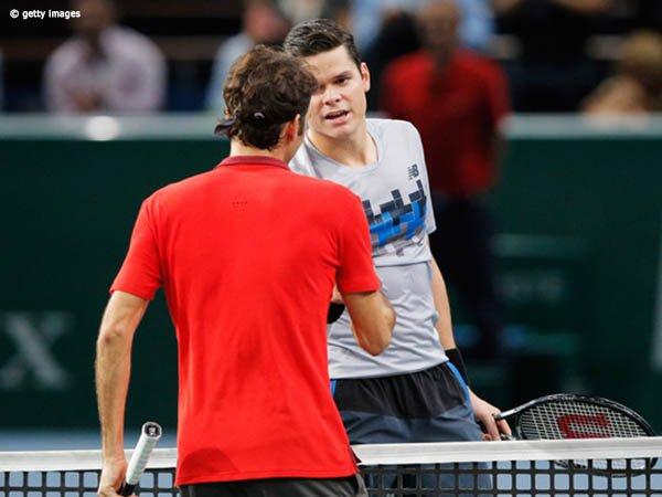 Milos Raonic Kenang Kemenangan Pertama Atas Roger Federer