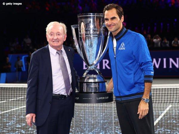 Rod Laver Dukung Penuh Roger Federer