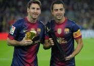 Xavi Sebut Messi Lebih Hebat Ketimbang Ronaldinho