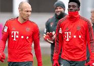 Alphonso Davies Akui Gugup Bertemu dengan Robben di Bayern Munich