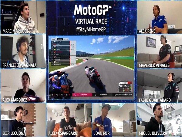 Quartararo Berharap Balapan Virtual Bisa Hibur Penggemar MotoGP