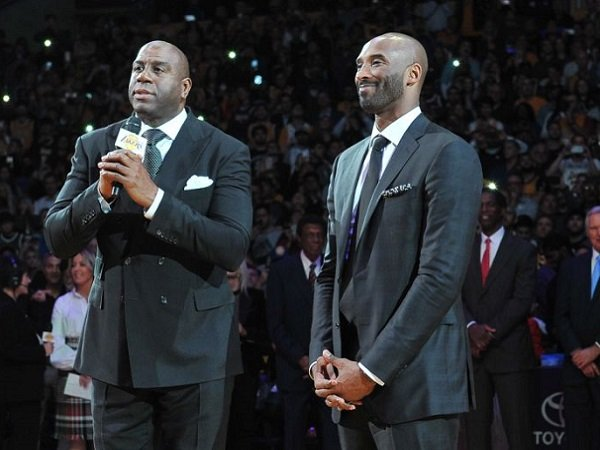 Magic Johnson Benarkan Film Dokumenter Kobe Bryant sedang Dibuat