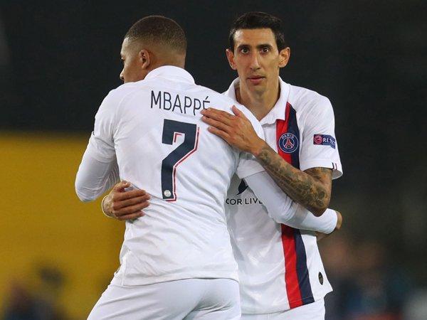 Usai Ligue 1 2019/20 Dihentikan, Mbappe dan Di Maria Raih Penghargaan Individu