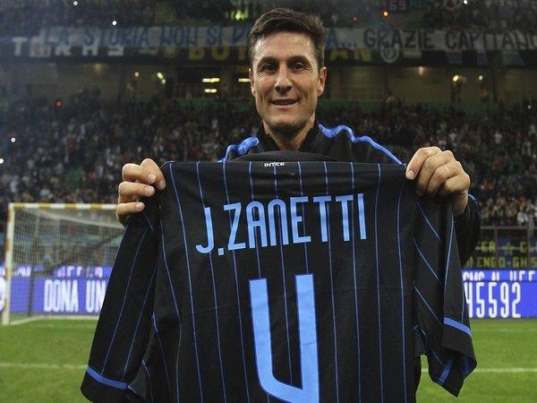 Javier Zanetti Kenang Nomor Punggung Peninggalannya di Inter