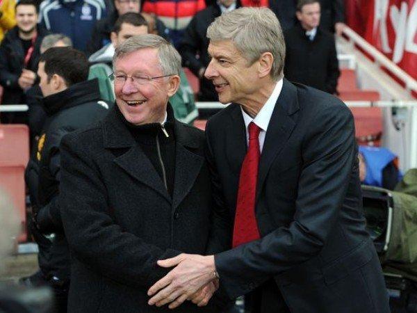 Kilas Balik: Ketika Arsene Wenger dan Ferguson Nyaris Berkelahi di Old Trafford