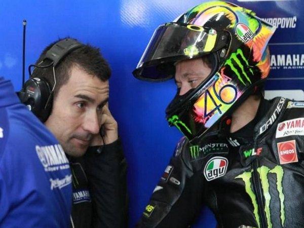 Rossi Yakin Punya Potensi Lebih Bersama Kepala Kru Barunya