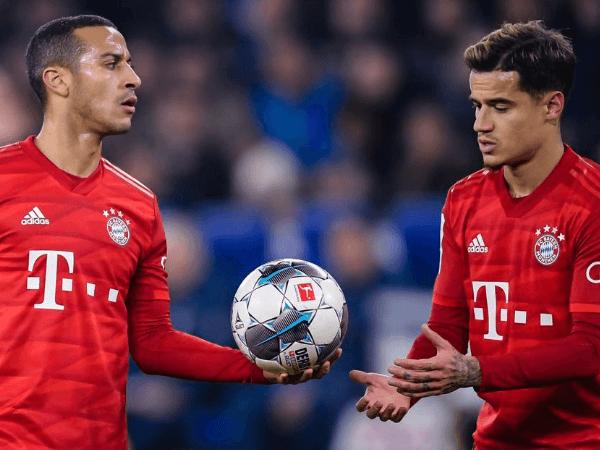 Tak Siap Kehilangan, Thiago Alcantara Bujuk Coutinho Bertahan di Bayern