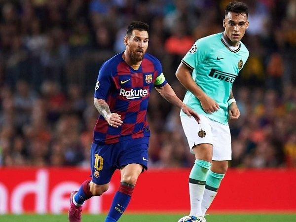 Lionel Messi dan Gaji Tinggi Bisa Bikin Lautaro Martinez Membelot ke Barcelona