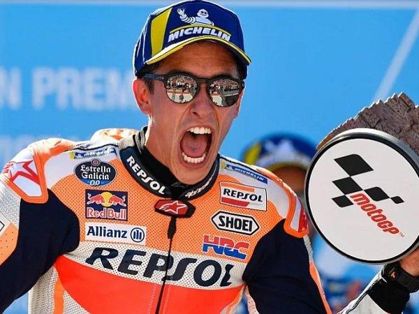 Tak Peduli Rekor, Marquez Hanya Ingin Juara Tiap Musim