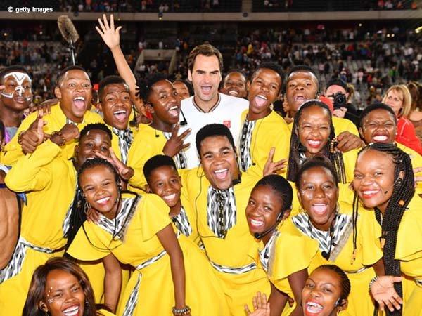 Yayasan Roger Federer Donasikan 1 Juta Dolar Untuk Afrika