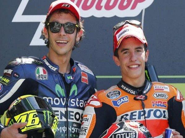 Marc Marquez Belum Yakin Bisa Ikuti Jejak Valentino Rossi